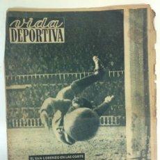 Coleccionismo deportivo: VIDA DEPORTIVA NÚMERO 225, DICIEMBRE DE 1949. Lote 238253830