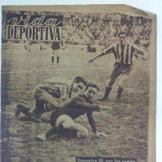 Coleccionismo deportivo: VIDA DEPORTIVA NÚMERO 230, ENERO DE 1950. Lote 238255400