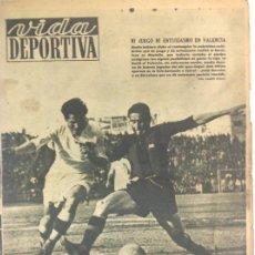 Coleccionismo deportivo: VIDA DEPORTIVA NÚMERO 234, FEBRERO DE 1950. Lote 238256430