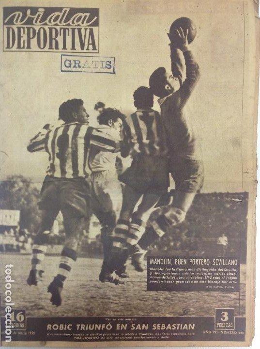 VIDA DEPORTIVA NÚMERO 236, MARZO DE 1950 (Coleccionismo Deportivo - Revistas y Periódicos - Vida Deportiva)