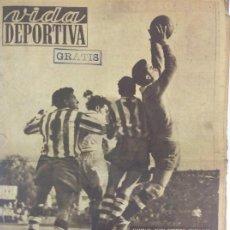 Coleccionismo deportivo: VIDA DEPORTIVA NÚMERO 236, MARZO DE 1950. Lote 238257155