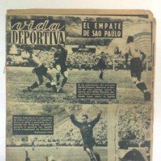 Coleccionismo deportivo: VIDA DEPORTIVA NÚMERO 253, JULIO DE 1950. Lote 238265675