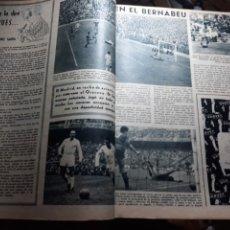 Coleccionismo deportivo: MARCA 1959 . R.MADRID 7 OSASUNA 0 - R.SOCIEDAD 0 AT. MADRID 3. COPA DE EUROPA R.MADRID 7 JEUNESSE 0.. Lote 238487195