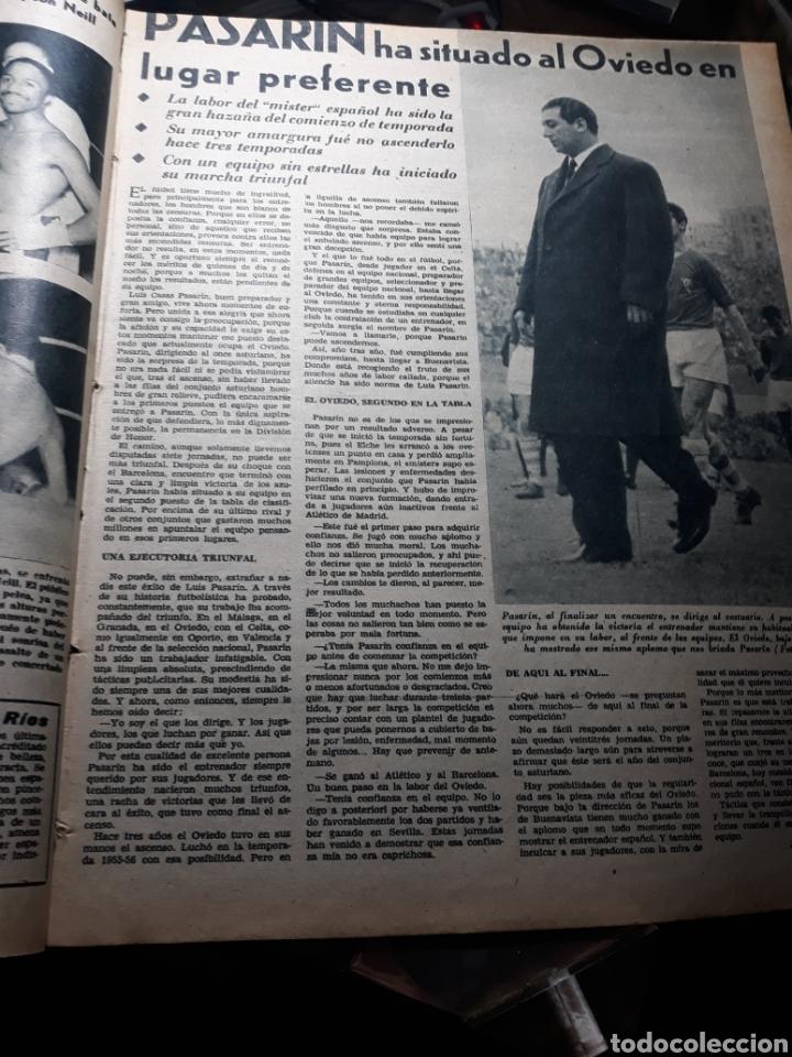 Coleccionismo deportivo: MARCA 1959 . R.MADRID 7 OSASUNA 0 - R.SOCIEDAD 0 AT. MADRID 3. COPA DE EUROPA R.MADRID 7 JEUNESSE 0. - Foto 7 - 238487195