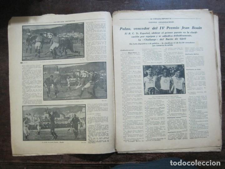 Coleccionismo deportivo: LA JORNADA DEPORTIVA-Nº 99-1923-NUREMBERG VS FC BARCELONA-ALCANTARA-FUTBOL-VER FOTOS-(V-22.516) - Foto 8 - 238495915