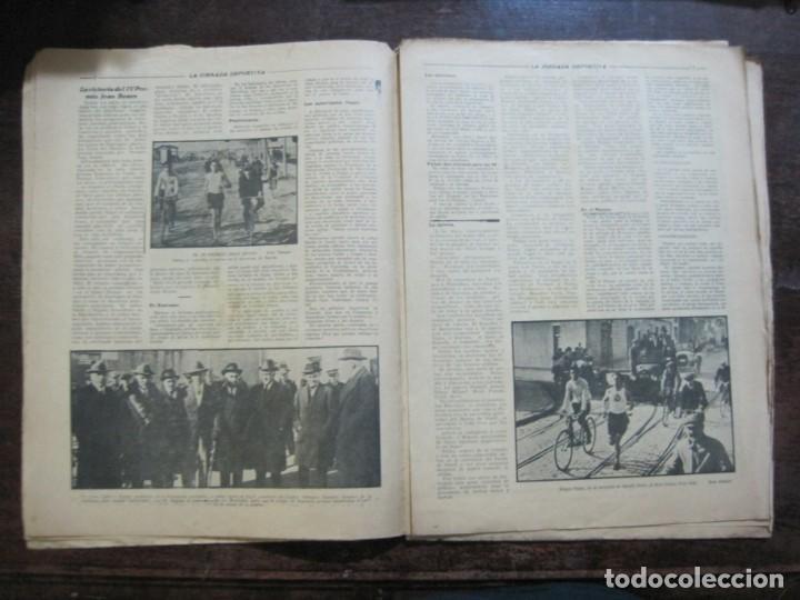 Coleccionismo deportivo: LA JORNADA DEPORTIVA-Nº 99-1923-NUREMBERG VS FC BARCELONA-ALCANTARA-FUTBOL-VER FOTOS-(V-22.516) - Foto 9 - 238495915