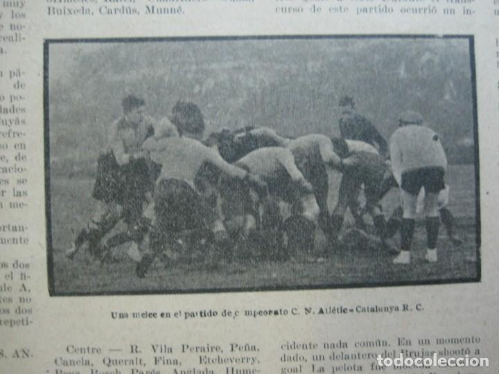 Coleccionismo deportivo: LA JORNADA DEPORTIVA-Nº 99-1923-NUREMBERG VS FC BARCELONA-ALCANTARA-FUTBOL-VER FOTOS-(V-22.516) - Foto 12 - 238495915