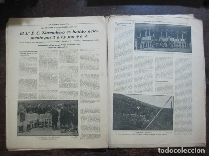 Coleccionismo deportivo: LA JORNADA DEPORTIVA-Nº 99-1923-NUREMBERG VS FC BARCELONA-ALCANTARA-FUTBOL-VER FOTOS-(V-22.516) - Foto 13 - 238495915