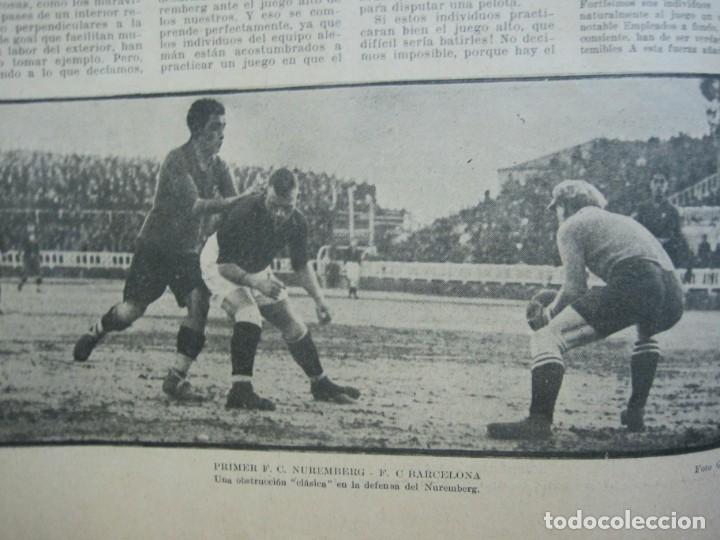 Coleccionismo deportivo: LA JORNADA DEPORTIVA-Nº 99-1923-NUREMBERG VS FC BARCELONA-ALCANTARA-FUTBOL-VER FOTOS-(V-22.516) - Foto 20 - 238495915