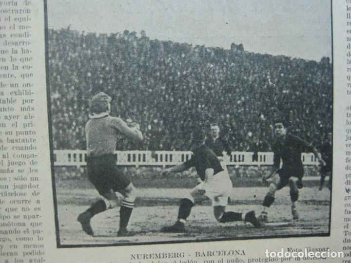 Coleccionismo deportivo: LA JORNADA DEPORTIVA-Nº 99-1923-NUREMBERG VS FC BARCELONA-ALCANTARA-FUTBOL-VER FOTOS-(V-22.516) - Foto 21 - 238495915