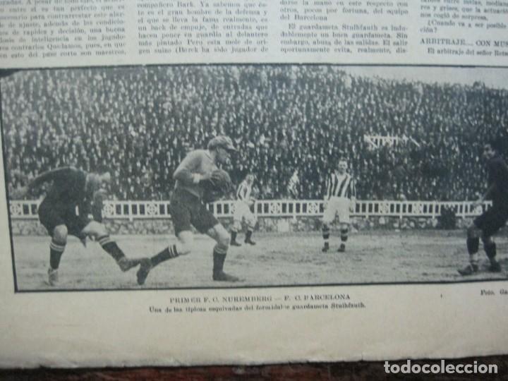 Coleccionismo deportivo: LA JORNADA DEPORTIVA-Nº 99-1923-NUREMBERG VS FC BARCELONA-ALCANTARA-FUTBOL-VER FOTOS-(V-22.516) - Foto 22 - 238495915