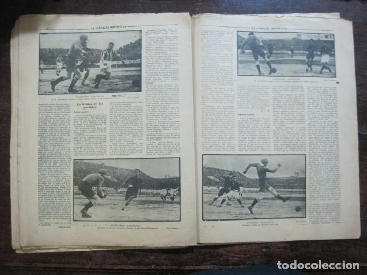 Coleccionismo deportivo: LA JORNADA DEPORTIVA-Nº 99-1923-NUREMBERG VS FC BARCELONA-ALCANTARA-FUTBOL-VER FOTOS-(V-22.516) - Foto 24 - 238495915