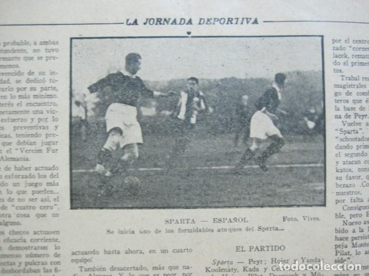 Coleccionismo deportivo: LA JORNADA DEPORTIVA-Nº 99-1923-NUREMBERG VS FC BARCELONA-ALCANTARA-FUTBOL-VER FOTOS-(V-22.516) - Foto 32 - 238495915