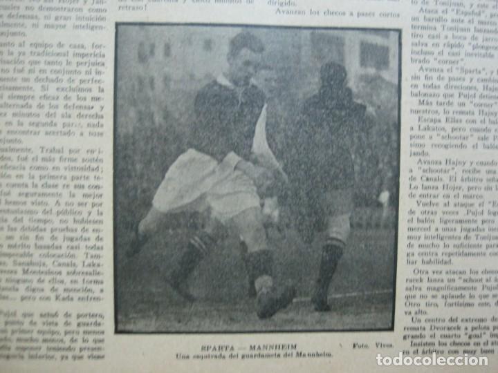 Coleccionismo deportivo: LA JORNADA DEPORTIVA-Nº 99-1923-NUREMBERG VS FC BARCELONA-ALCANTARA-FUTBOL-VER FOTOS-(V-22.516) - Foto 33 - 238495915