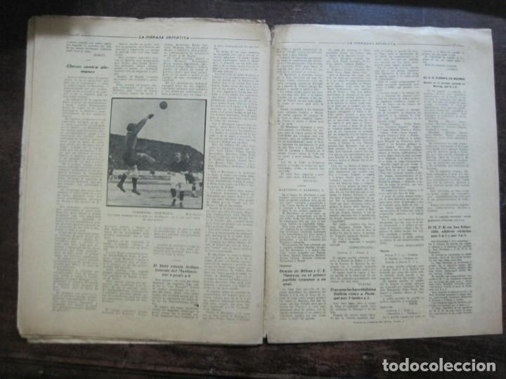 Coleccionismo deportivo: LA JORNADA DEPORTIVA-Nº 99-1923-NUREMBERG VS FC BARCELONA-ALCANTARA-FUTBOL-VER FOTOS-(V-22.516) - Foto 34 - 238495915