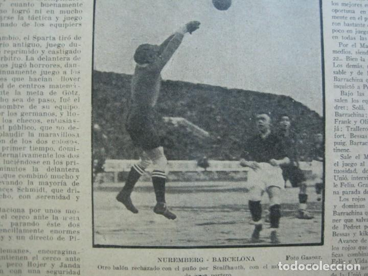 Coleccionismo deportivo: LA JORNADA DEPORTIVA-Nº 99-1923-NUREMBERG VS FC BARCELONA-ALCANTARA-FUTBOL-VER FOTOS-(V-22.516) - Foto 35 - 238495915