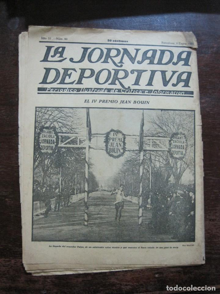 Coleccionismo deportivo: LA JORNADA DEPORTIVA-Nº 99-1923-NUREMBERG VS FC BARCELONA-ALCANTARA-FUTBOL-VER FOTOS-(V-22.516) - Foto 36 - 238495915