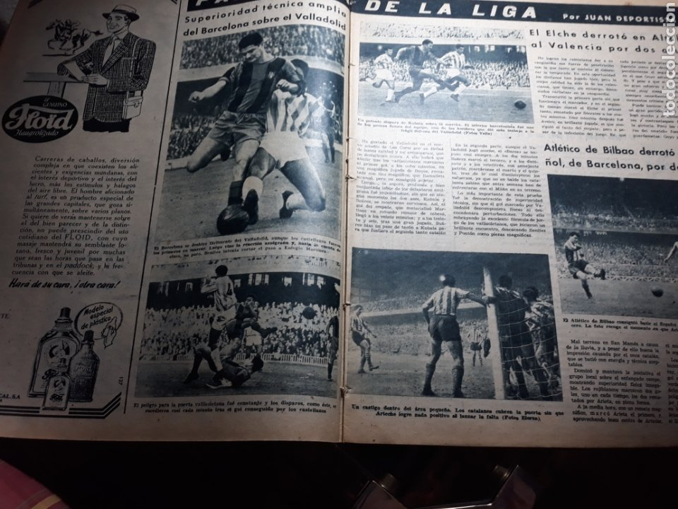 Coleccionismo deportivo: REVISTA MARCA 1959 .R.MADRID 3 AT.MADRID 3. BARCELONA MILAN .VENCIO EL RAYO AL PLUS ULTRA - Foto 4 - 238496490