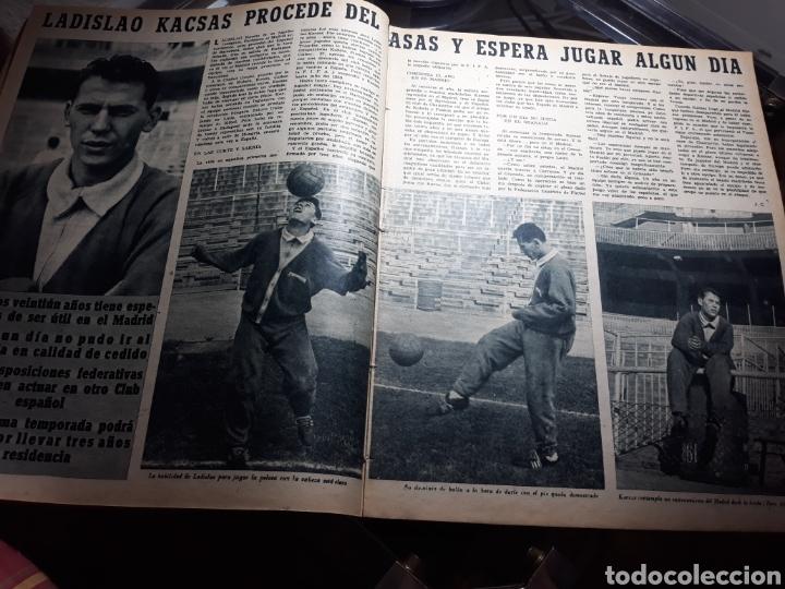 Coleccionismo deportivo: REVISTA MARCA 1959 .R.MADRID 3 AT.MADRID 3. BARCELONA MILAN .VENCIO EL RAYO AL PLUS ULTRA - Foto 6 - 238496490