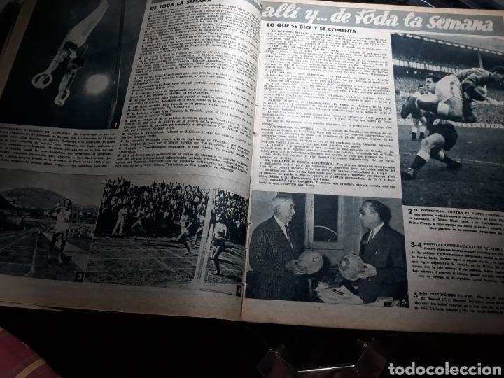 Coleccionismo deportivo: REVISTA MARCA 1959 .R.MADRID 3 AT.MADRID 3. BARCELONA MILAN .VENCIO EL RAYO AL PLUS ULTRA - Foto 7 - 238496490