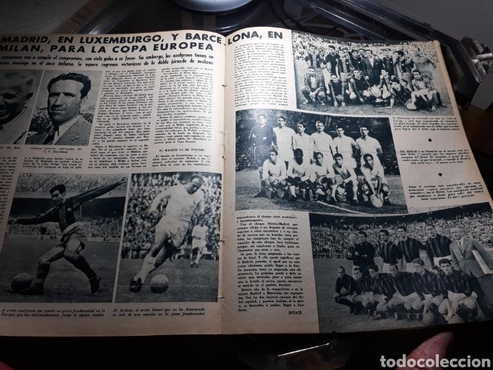 Coleccionismo deportivo: REVISTA MARCA 1959 .R.MADRID 3 AT.MADRID 3. BARCELONA MILAN .VENCIO EL RAYO AL PLUS ULTRA - Foto 9 - 238496490
