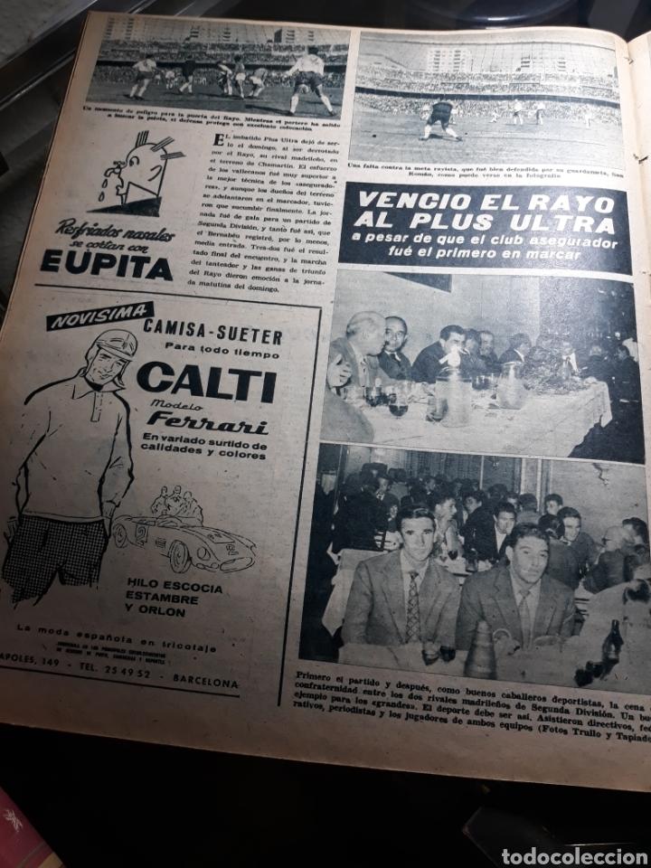 Coleccionismo deportivo: REVISTA MARCA 1959 .R.MADRID 3 AT.MADRID 3. BARCELONA MILAN .VENCIO EL RAYO AL PLUS ULTRA - Foto 10 - 238496490