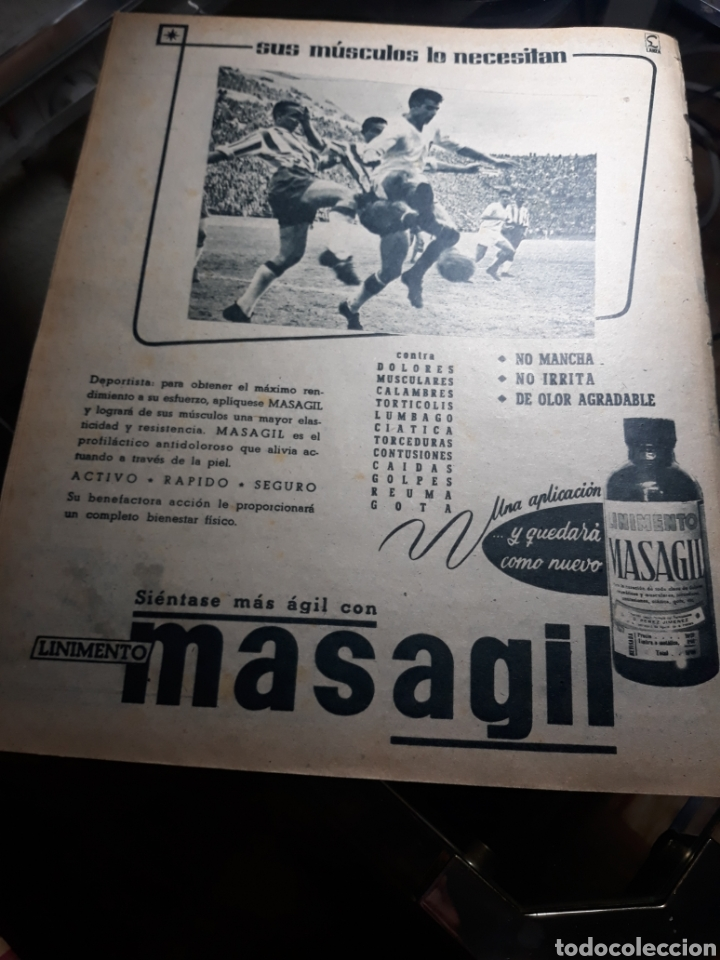 Coleccionismo deportivo: REVISTA MARCA 1959 .R.MADRID 3 AT.MADRID 3. BARCELONA MILAN .VENCIO EL RAYO AL PLUS ULTRA - Foto 11 - 238496490