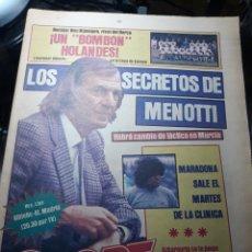 Coleccionismo deportivo: SPORT 1 OCTUBRE 1983 NEC NIJMEGEN , RIVAL DEL BARCA - LAURIDSEN MARADONA A CASA - BADALONA. Lote 238503475