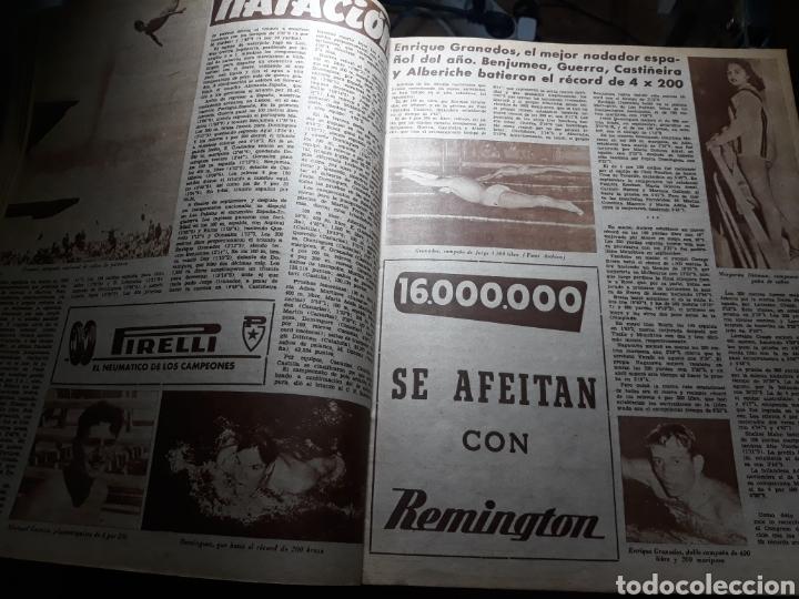 Coleccionismo deportivo: MARCA SUPLEMENTO GRÁFICO DE LOS DEPORTES.NUMERO EXTRAORDINARIO FIN DE AÑO N° 734 25 DICIEMBRE 1956 - Foto 5 - 238656225
