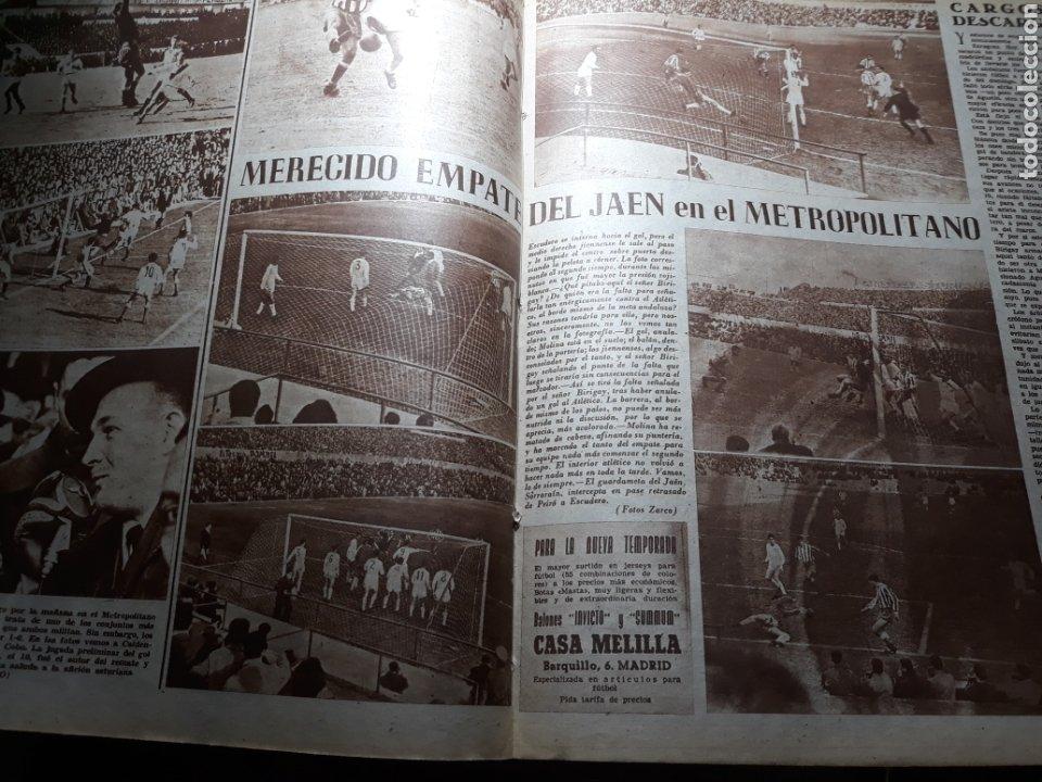 Coleccionismo deportivo: MARCA SUPLEMENTO GRÁFICO DE LOS DEPORTES.NUMERO EXTRAORDINARIO FIN DE AÑO N° 734 25 DICIEMBRE 1956 - Foto 6 - 238656225