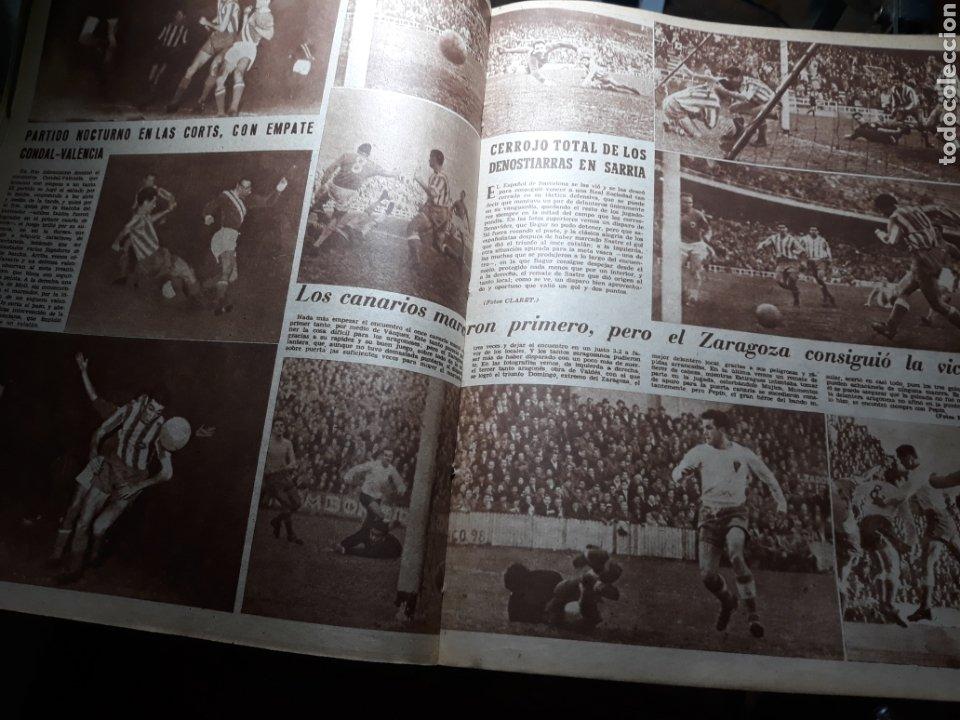 Coleccionismo deportivo: MARCA SUPLEMENTO GRÁFICO DE LOS DEPORTES.NUMERO EXTRAORDINARIO FIN DE AÑO N° 734 25 DICIEMBRE 1956 - Foto 7 - 238656225
