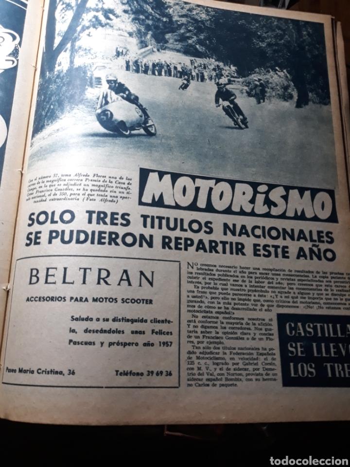 Coleccionismo deportivo: MARCA SUPLEMENTO GRÁFICO DE LOS DEPORTES.NUMERO EXTRAORDINARIO FIN DE AÑO N° 734 25 DICIEMBRE 1956 - Foto 11 - 238656225