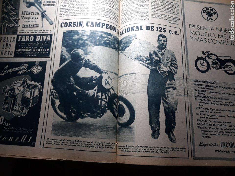 Coleccionismo deportivo: MARCA SUPLEMENTO GRÁFICO DE LOS DEPORTES.NUMERO EXTRAORDINARIO FIN DE AÑO N° 734 25 DICIEMBRE 1956 - Foto 12 - 238656225