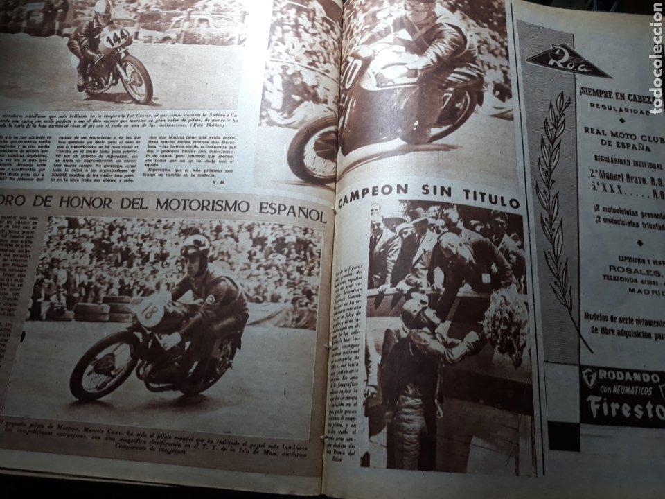 Coleccionismo deportivo: MARCA SUPLEMENTO GRÁFICO DE LOS DEPORTES.NUMERO EXTRAORDINARIO FIN DE AÑO N° 734 25 DICIEMBRE 1956 - Foto 13 - 238656225