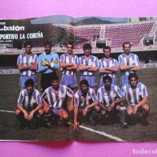 Collezionismo sportivo: REVISTA DON BALON Nº 712 POSTER RC DEPORTIVO DE LA CORUÑA 88/89 DEPOR 1988/1989 - DONATO - ULTRAS. Lote 238723415