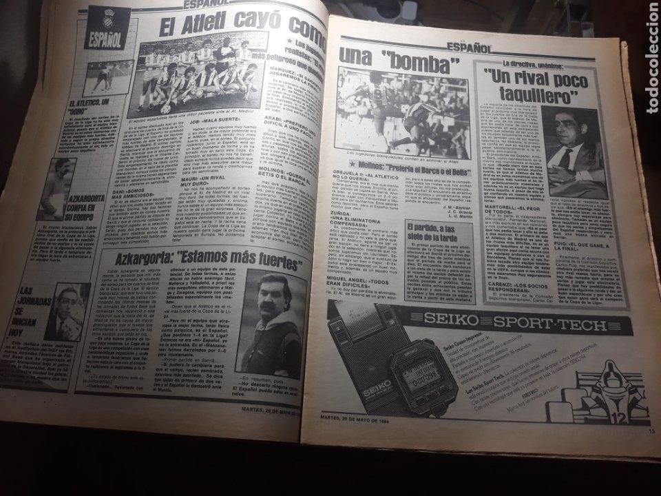 Coleccionismo deportivo: SPORT 29 MAYO 1984 . COSMOS 5 BARCELONA 3 - ULTIMÁTUM MARADONA -SCHUSTER , OFERTA DEL TORINO . - Foto 5 - 238807660