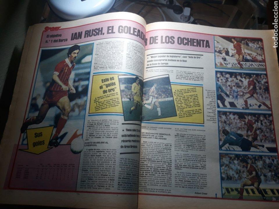Coleccionismo deportivo: SPORT 29 MAYO 1984 . COSMOS 5 BARCELONA 3 - ULTIMÁTUM MARADONA -SCHUSTER , OFERTA DEL TORINO . - Foto 6 - 238807660