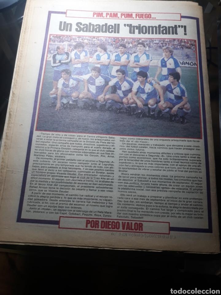 Coleccionismo deportivo: SPORT 29 MAYO 1984 . COSMOS 5 BARCELONA 3 - ULTIMÁTUM MARADONA -SCHUSTER , OFERTA DEL TORINO . - Foto 11 - 238807660