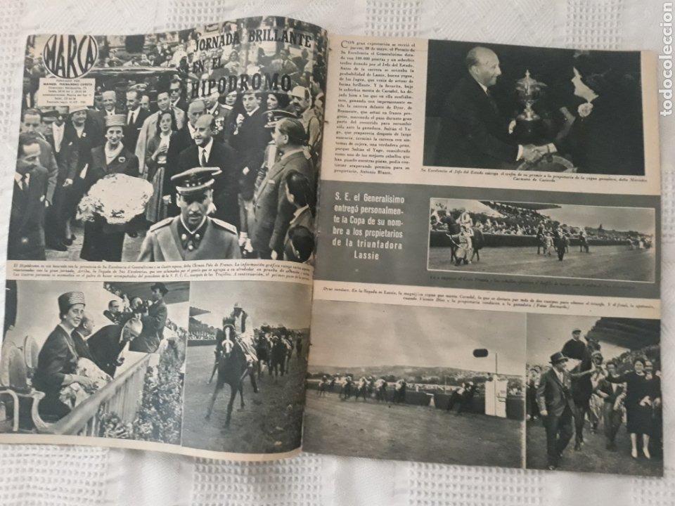 Coleccionismo deportivo: REVISTA MARCA 1959 . EL MADRID A POR LA IV COPA DE EUROPA. SORTEO COPA SEMIFINALES -POBLET CICLISTA - Foto 3 - 238812485