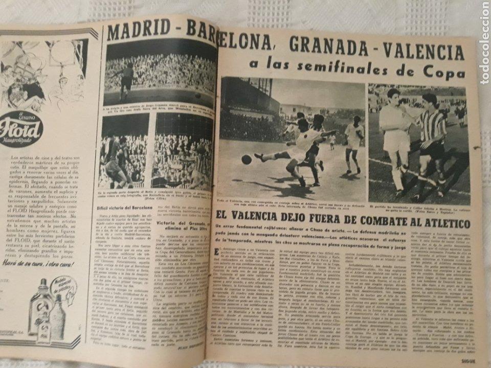 Coleccionismo deportivo: REVISTA MARCA 1959 . EL MADRID A POR LA IV COPA DE EUROPA. SORTEO COPA SEMIFINALES -POBLET CICLISTA - Foto 4 - 238812485
