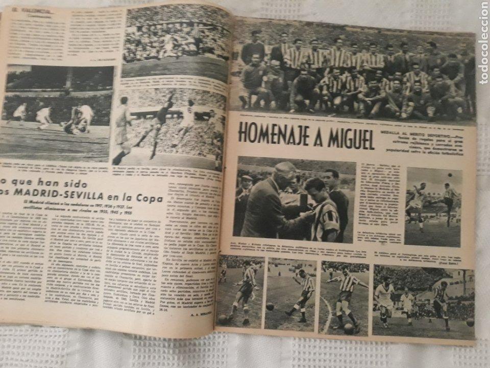 Coleccionismo deportivo: REVISTA MARCA 1959 . EL MADRID A POR LA IV COPA DE EUROPA. SORTEO COPA SEMIFINALES -POBLET CICLISTA - Foto 5 - 238812485