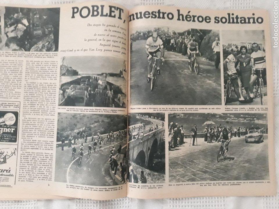 Coleccionismo deportivo: REVISTA MARCA 1959 . EL MADRID A POR LA IV COPA DE EUROPA. SORTEO COPA SEMIFINALES -POBLET CICLISTA - Foto 6 - 238812485