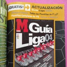 Coleccionismo deportivo: EXTRA MARCA GUIA LIGA DE CAMPEONES 03/04 - ACTUALIZACION LIGA 2003/2004 - ESPECIAL CHAMPIONS LEAGUE. Lote 239353145