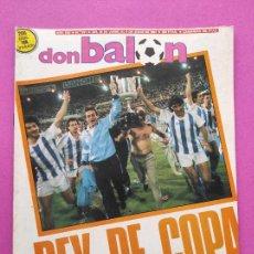 Coleccionismo deportivo: REVISTA DON BALON Nº 611 REAL SOCIEDAD CAMPEON COPA DEL REY 86/87 ATLETI 1986/1987. Lote 239397865
