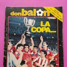 Coleccionismo deportivo: REVISTA DON BALON Nº 507 ATLETICO DE MADRID CAMPEON COPA DEL REY 84 85 - ATLETI 1984 1985 ATHLETIC. Lote 239400720