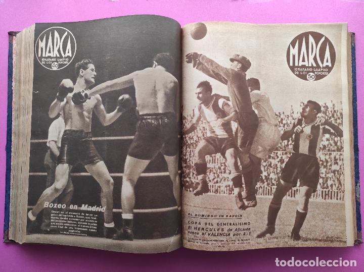 Coleccionismo deportivo: TOMO 53 SEMANARIOS MARCA Nº 48-100 ATLETICO AVIACION CAMPEON LIGA 39/40 RCD ESPAÑOL COPA 1939/1940 - Foto 24 - 240036210