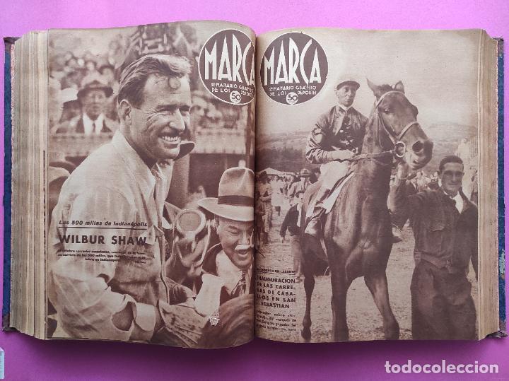 Coleccionismo deportivo: TOMO 53 SEMANARIOS MARCA Nº 48-100 ATLETICO AVIACION CAMPEON LIGA 39/40 RCD ESPAÑOL COPA 1939/1940 - Foto 31 - 240036210