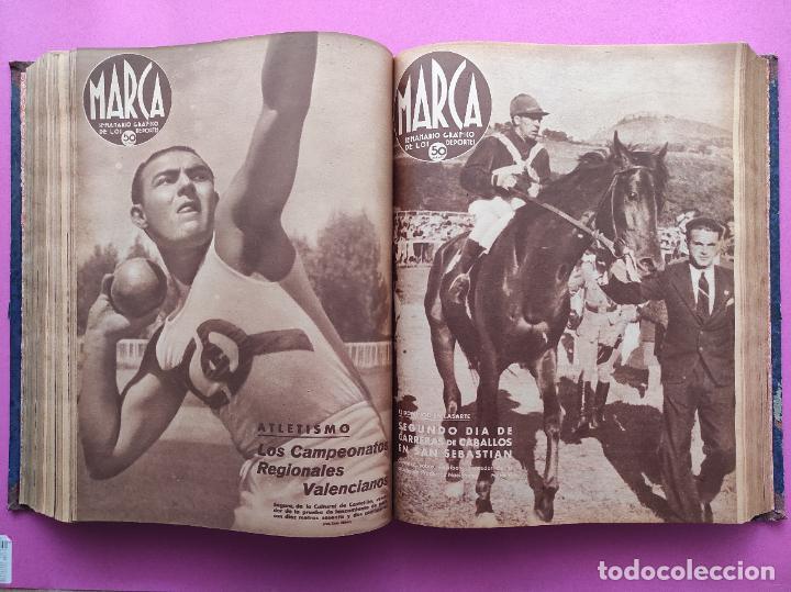 Coleccionismo deportivo: TOMO 53 SEMANARIOS MARCA Nº 48-100 ATLETICO AVIACION CAMPEON LIGA 39/40 RCD ESPAÑOL COPA 1939/1940 - Foto 32 - 240036210