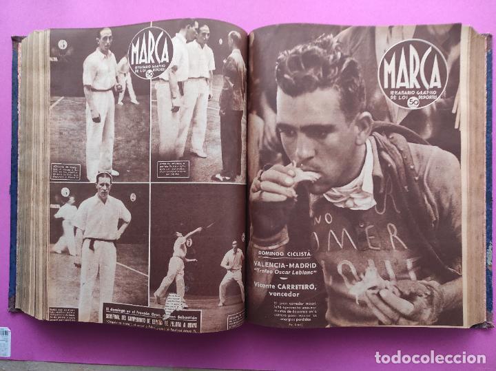 Coleccionismo deportivo: TOMO 53 SEMANARIOS MARCA Nº 48-100 ATLETICO AVIACION CAMPEON LIGA 39/40 RCD ESPAÑOL COPA 1939/1940 - Foto 33 - 240036210