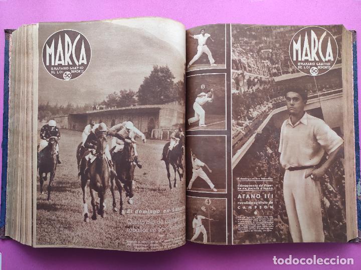 Coleccionismo deportivo: TOMO 53 SEMANARIOS MARCA Nº 48-100 ATLETICO AVIACION CAMPEON LIGA 39/40 RCD ESPAÑOL COPA 1939/1940 - Foto 35 - 240036210